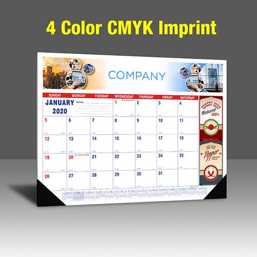 CA202 Reflex Blue & PMS 185 Red Base - 4 Color Imprint