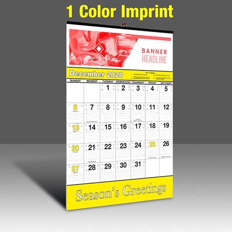 WA102 Black+Yellow Base - 1 Color Imprint