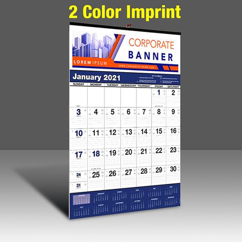 WA102 Black+Reflex Blue - 2 Color Imprint