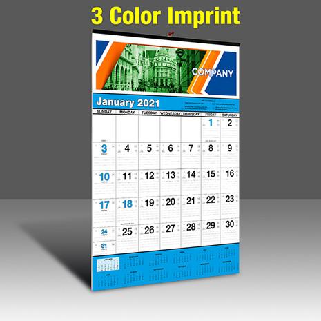 WA102 Black+Cyan Base - 3 Color Imprint