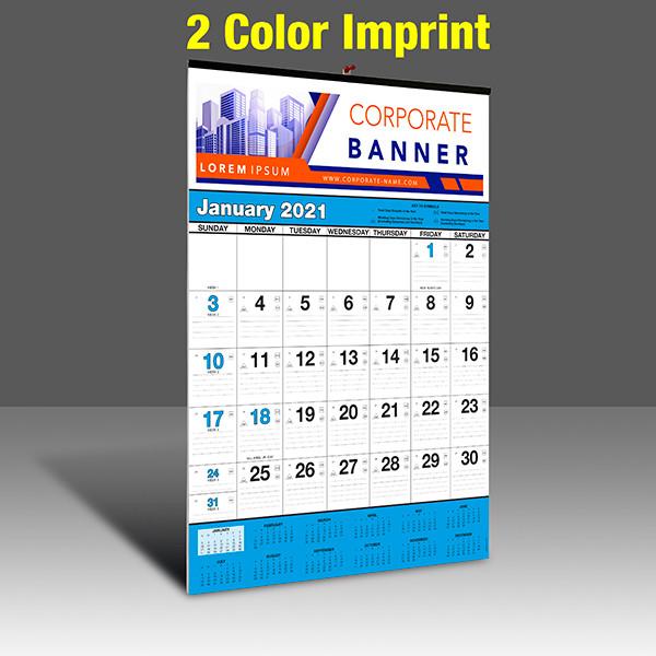 WA102 Black+Cyan Base - 2 Color Imprint