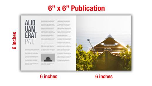 "6"" x 6"" Catalog & Publication Specs"