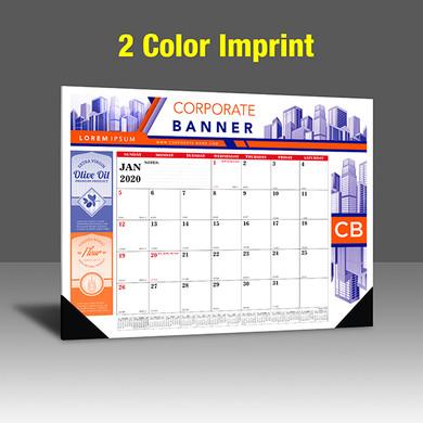 CA208 Black & PMS 185 Red - 2 Color Imprint