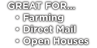 Notepads used for Farming | Direct Mail | Open Houses