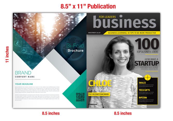 """8.5"""" x 11"""" Catalog/Publications Specs"""