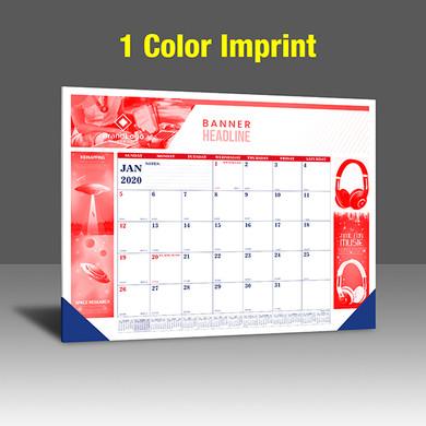 CA208 Reflex Blue & PMS 185 Red Base - 1 Color Imprint