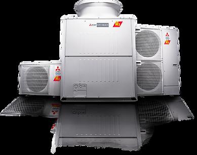 VRF outdoor condenser