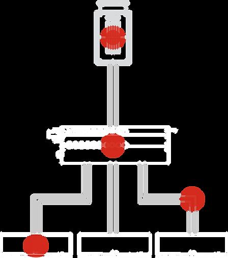 Variable refrigerant flow (VRF) diagram