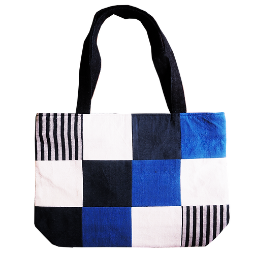 Grid Shopping Bag - T08
