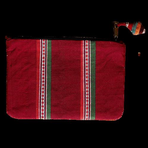 Requirement Weaving Patterned Clutch Bag - V24