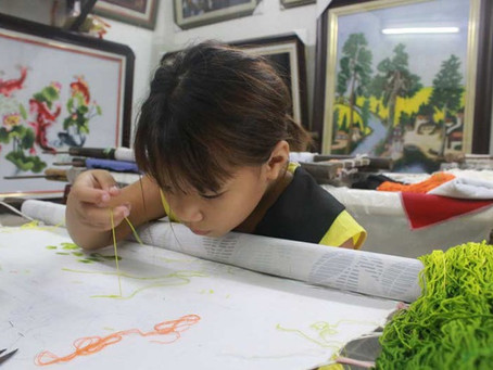 EMBROIDERY VILLAGES IN VIETNAM