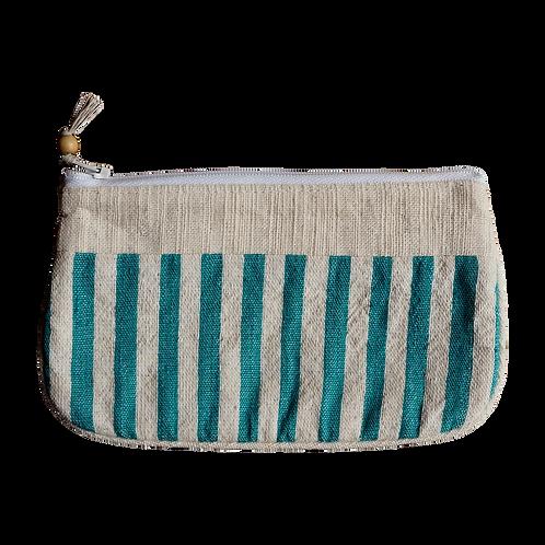 School With Weaving Patterned Bag - V04