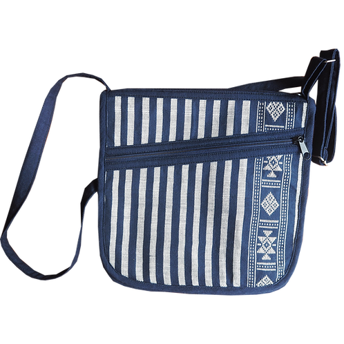 L Saddle Bag Weaving Patterned Bag -  T12
