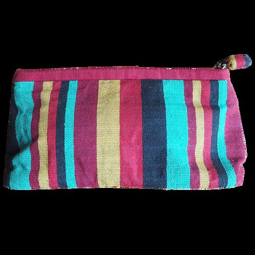 Medium Hand Weaving Patterned Bag -  V10