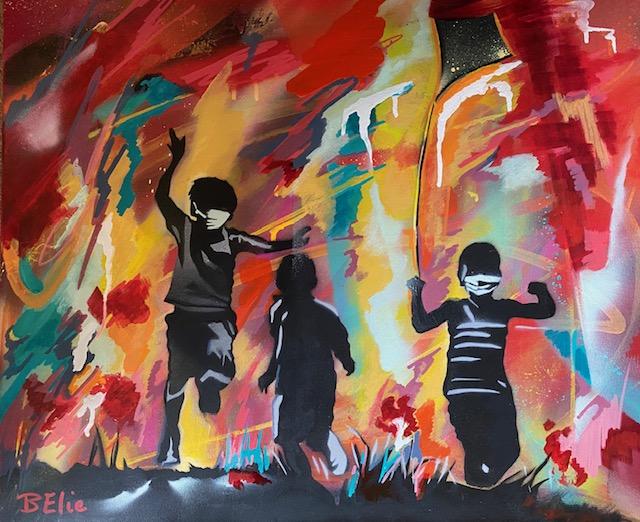 les_enfants_libérés_du_confinement_belie