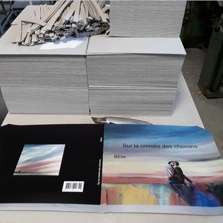 un livre d'art fabriqué en France