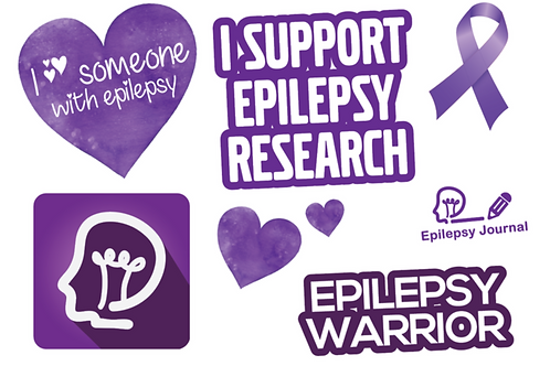 Epilepsy Journal Stickers
