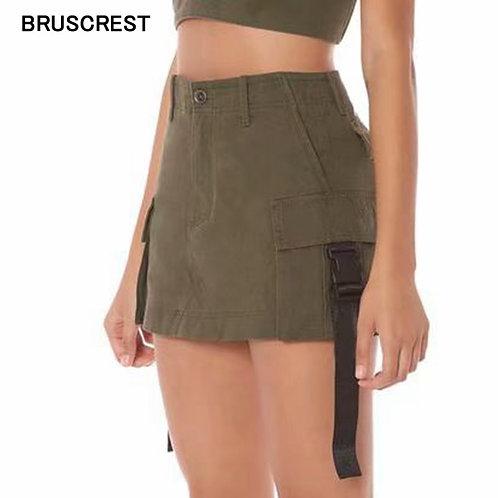 長腿妹妹復古高腰裙Vintage High Waist Skirts For Women
