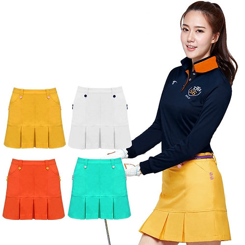 時尚高爾夫運動百褶短裙 Fashionable golf sports pleated skirt