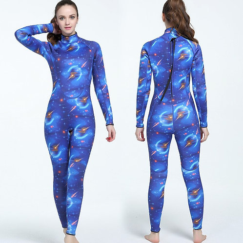 3mm橡膠防寒保暖迷彩連身潛水服 3mm Joint Rubber Camouflage Submersible Suit