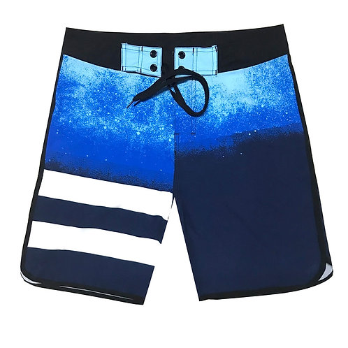 條紋系列海灘褲Striped series board shorts