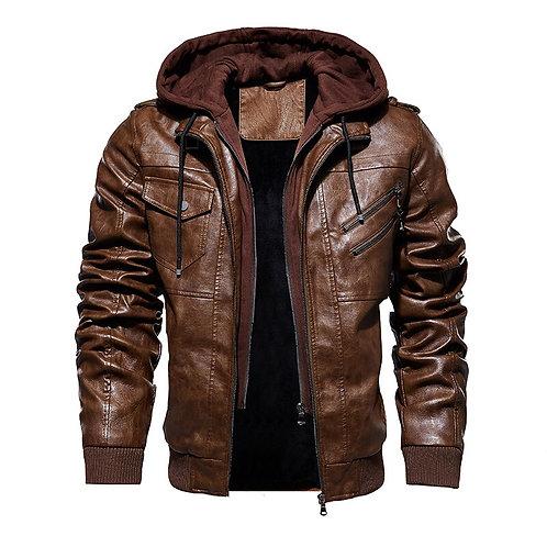 騎士皮夾克 (歐版) Motorcycle Leather Jacket for Men