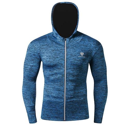 男士壓縮緊身健身外套/長袖 Compression Tight Fitness Long Sleeve Sportswear/Sport shirt