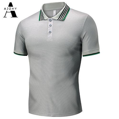 男士透氣短袖Polo衫 Jersey Sport Fashion Polo Shirt