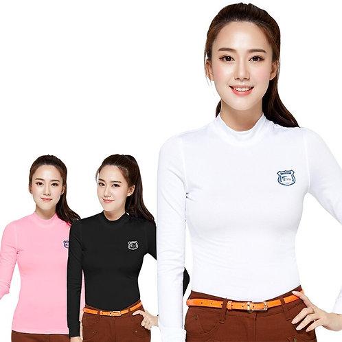 女子長袖專業機能高爾夫球衫 Women's Long Sleeve Professional Functional Golf Shirt