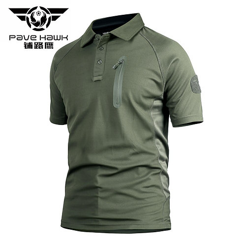 立領軍事戰術快乾排汗Polo衫 Stand Collar Military Tactical Polo