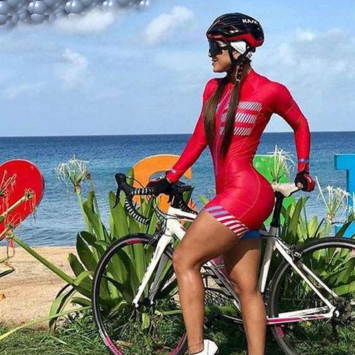 KAFITT新款女單車長袖連身衣 Kafitt New Women's Bicycle Suit