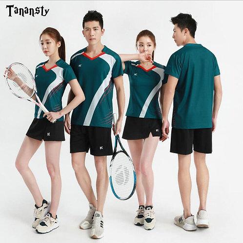 透氣舒適羽毛球網球衫 Breathable and comfortable badminton tennis shirt