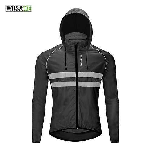 超輕反光防水防風外套/背心 Ultralight Reflective Windbreaker Windproof Jacket/Vest