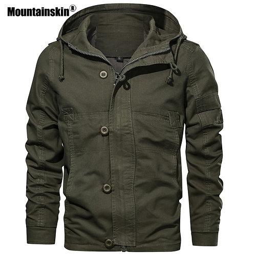 連帽男裝外套 Hooded Men's Jacket