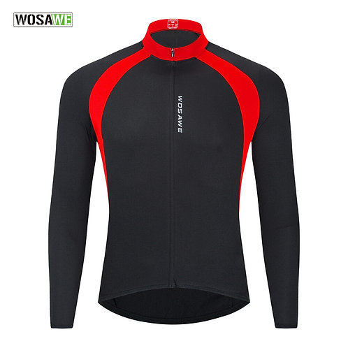 網眼長袖透氣自行車服 Mesh Long Sleeve  Breathable Bicycle Shirt