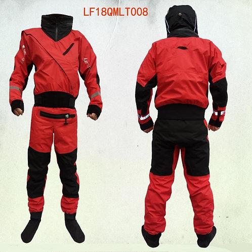 獨木舟/帆船全身式帶帽防水服 New Full Dry Suit  Front  Tizip Enter Zipper With  Hood