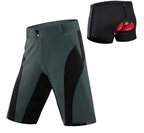 休閒式透氣鬆緊自行車短褲 Quick Dry Breathable Cycling Shorts