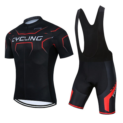 鋼鐵三項專業自行車套服 Steel triathlon professional bicycle suit
