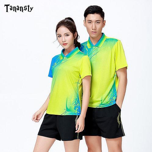 漸層熱昇華透氣男女運動衫 Gradient sublimation breathable men's and women's sweatshirts