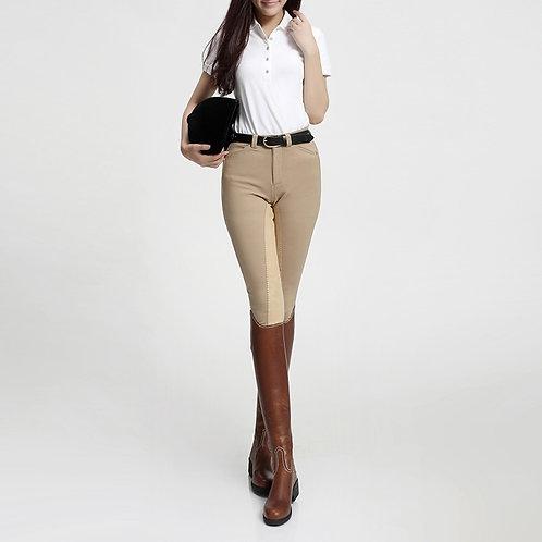 女式矽膠高彈力馬術長褲  Silicone High Elastic Trousers