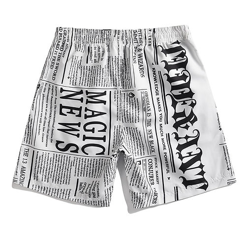 美式印刷風海灘褲American printed board shorts