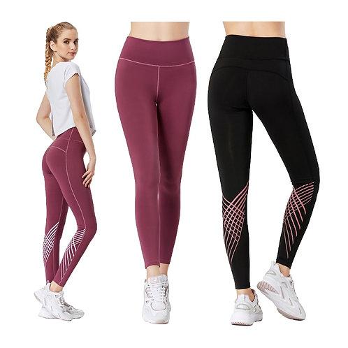 運動彈力高腰瑜伽褲 Stretch Yoga High Waist Pants
