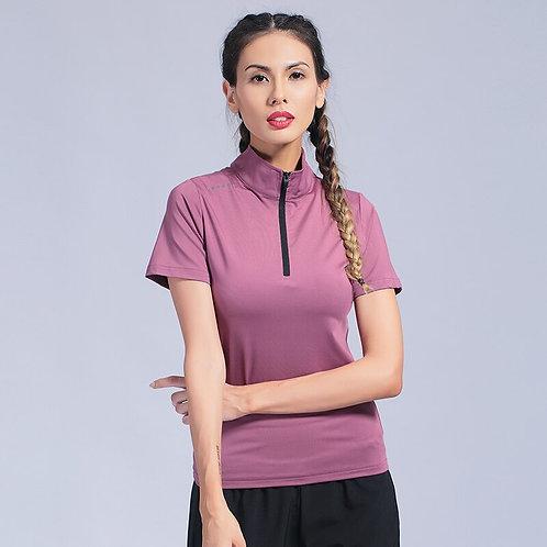 女戶外運動健身T恤 Woman Running Compression Shirt