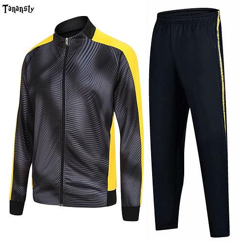 男女波紋線條運動套裝Corrugated line sports suit