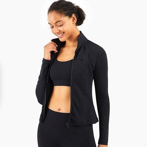 純色緊身透氣外套Pure color tight-fitting breathable jacket