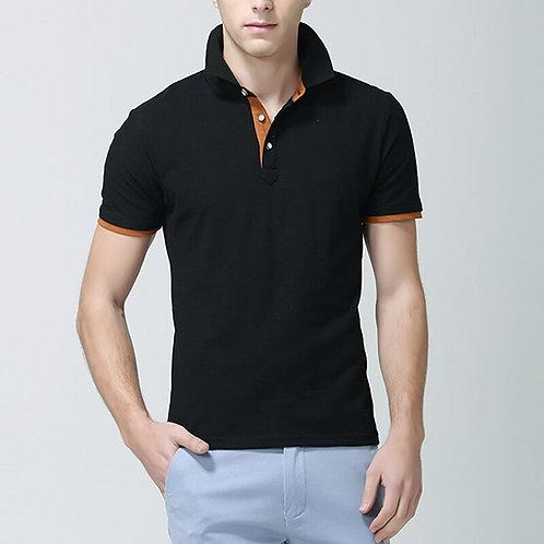 2020純色男士全棉透氣立領Polo衫 2020 Solid Breathable Cotton Polo