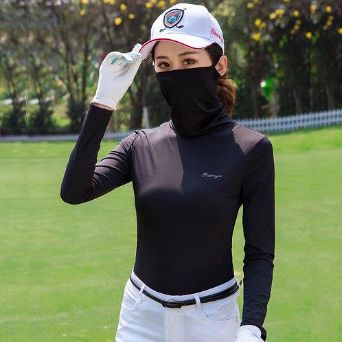 女子防曬透氣長袖抗紫外線高爾夫機能衫 Sun Protection Breathable Long Sleeve  Anti-Uv TOP