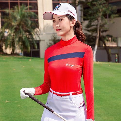 女子長袖專業高爾夫機能衫 Women's Long Sleeve Professional Golf Performance Shirt