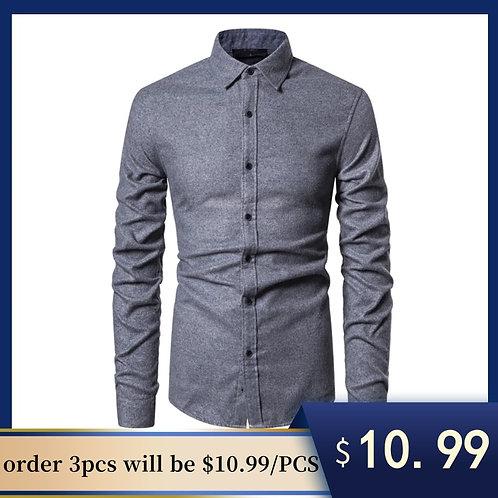高品質男裝襯衫High Quality Slim Fit Men Dress Shirt