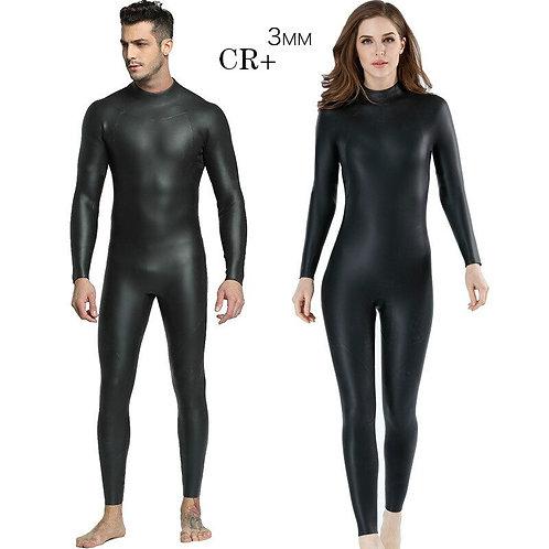 3MM一體式CR +超彈力防寒保暖男女潛水服 3MM Integrated Male Female  CR+ Ultra Elastic Diving Suit